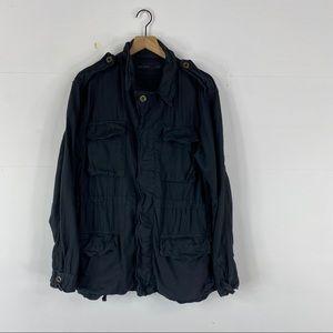 Izzue Linen Utility Jacket Size 5 (L)